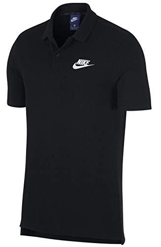 Nike Matchup, Polo Uomo, Nero/Bianco, M