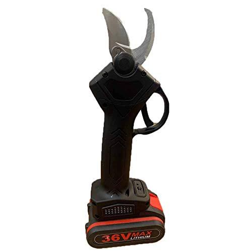 TNNT Drahtlose wiederaufladbare Schere Elektrische Schnittschere Pfropfschere Elektrogeräte und Handwerkzeuge Haarschneidemaschine Gartenschnittschere 2000mah 36Vf