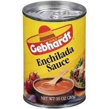 Gebhardt Enchilada Sauce 10oz Can (Pack of 12)