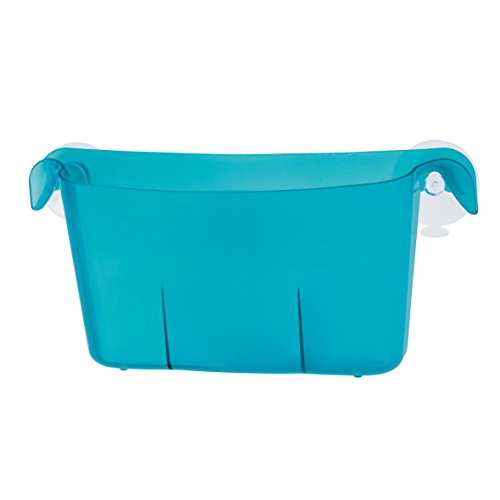 koziol rangement à suspendre Miniboks, thermoplastique, turquoise transparent, 8,7 x 25,9 x 12,3 cm