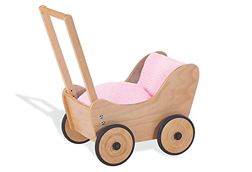 Pinolino Puppenwagen Sarah, aus Holz, mit...