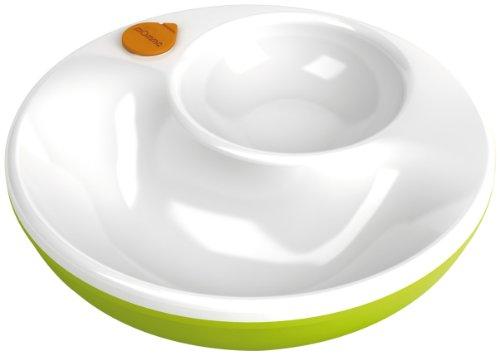 Lansinoh mOmma®: Warmhalteteller mit Wasserkammer und Antirutschboden