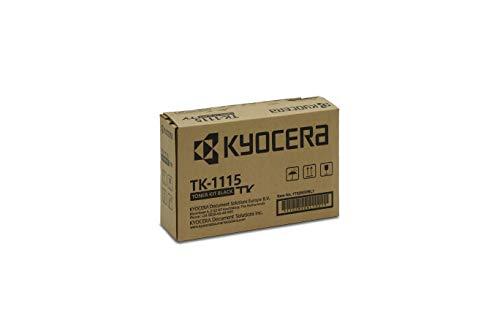 Kyocera TK-1115 Original Toner-Kartusche Schwarz 1T02M50NL0. Kompatibel für FS-1041, FS-1220MFP, FS-1320MFP