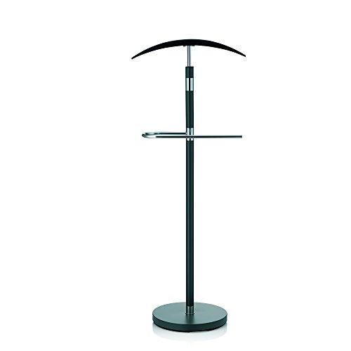 kela Herrendiener Sinerio aus Metall in schwarz, 30 x 45 x 112.5 cm