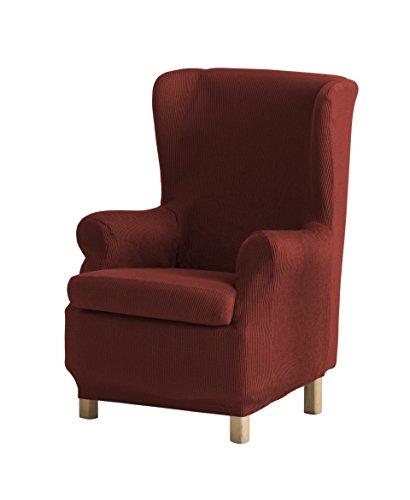 Eysa Ulises - Funda de sillón orejero elástica, color caldera, tela