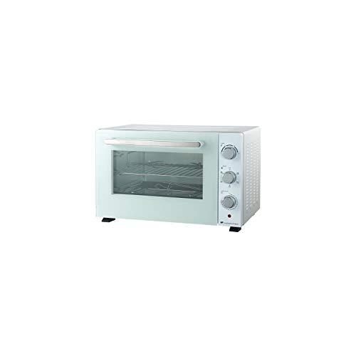 CONTINENTAL EDISON cemf46w2 - minifour électrique 46l Blanc - 1800w - rotissoire, Chaleur tournante
