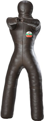 Suples DummyPower (Legs) Leather (XSmall, 30-35 lbs) Freestyle, MMA, Wrestling, Boxing, Jiu Jitsu, Grappling, UFC, Judo, Combat Sports, Kickboxing