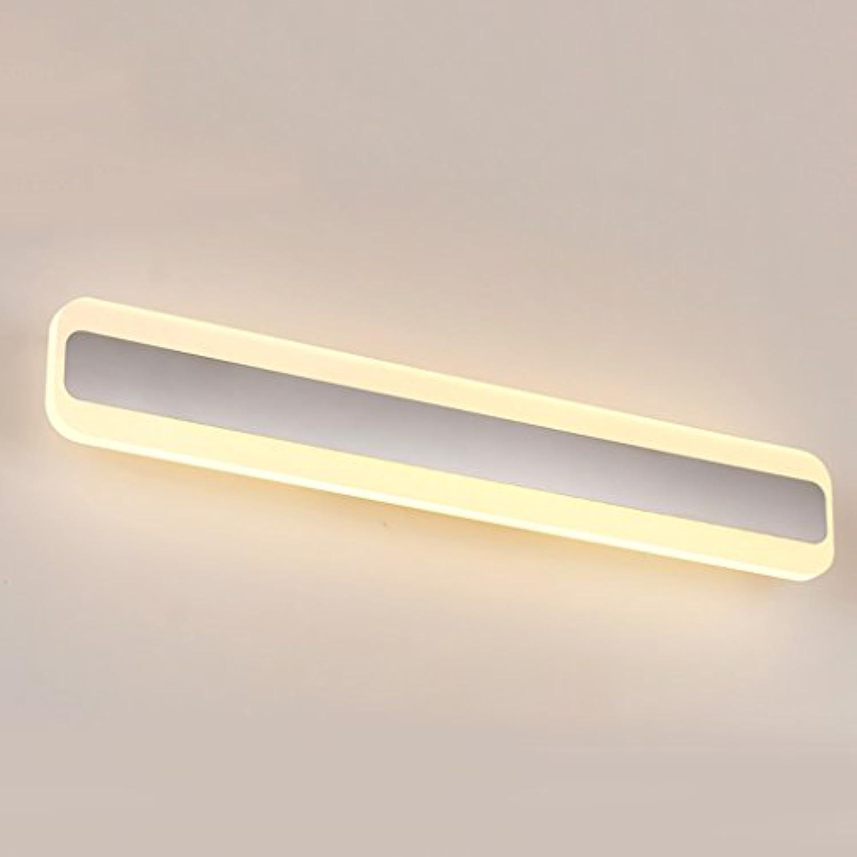 Badspiegel Lampe Badezimmer Spiegel Schrank LED Anti - Fog Badezimmer Spiegel Vorne Lichter Spiegel ScheinwerferA+ ( gre   14W (warm Weiß light 40cm) )