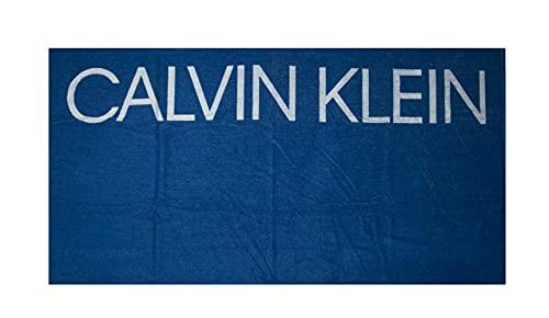 Toalla de playa Calvin Klein (Bobby Azul)