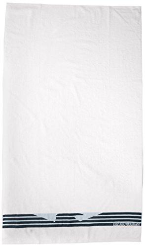Emporio Armani Underwear 1108007P591 - Asciugamano, Bianco (BIANCO), Taglia unica