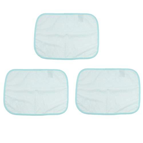 IPOTCH 3er Pack Wasserdicht Inkontinenzunterlage Mehrweg-Krankenunterlage Bettschutzauflage Inkontinenzauflage