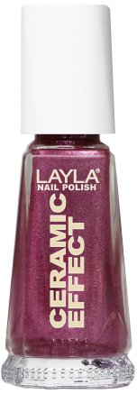 Layla Cosmetics 1243R23-044 Ceramic Effect Nagellak - flashy fucsia, 1-pack (1 x 0,01 l)