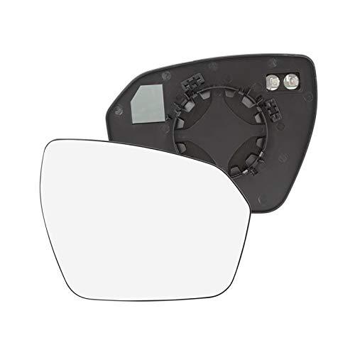 VIKEP Ajuste for Land Rover Range Rover Evoque Izquierda Derecha Par espejo de cristal climatizada con cubierta de placa lateral del espejo retrovisor de cristal 2012 2013 2014 2015 2016 2017