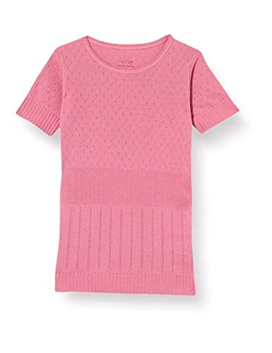 Noa Mini Basic Doria Camiseta, Vino Rosa, 8 años para Niñas