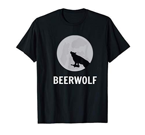 Werwolf Bierwolf Beer Wolf Bier Beerwolf Biermarke T-Shirt