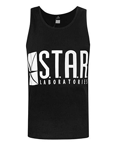 The Flash TV Series STAR Laboratories Hombres Camisita