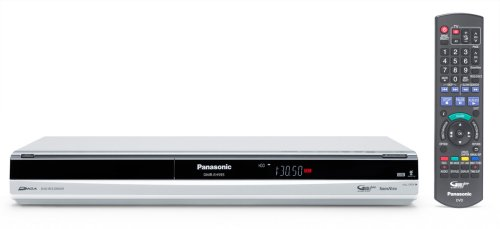 Panasonic DMR EH 595 EG S DVD-/Festplatten-Rekorder 250 GB (HDMI, DivX-zertifiziert, USB 2.0) silber