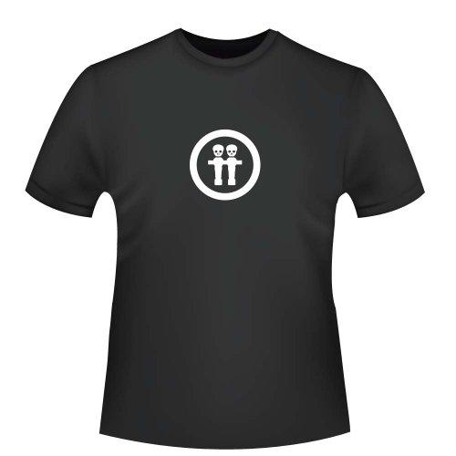 Tischkicker Skull, Herren T-Shirt - Fairtrade, Größe XXL, schwarz