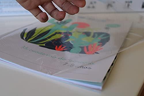 Film adhesivo removible para forrar libros con propiedades antivirus covid y bacterias