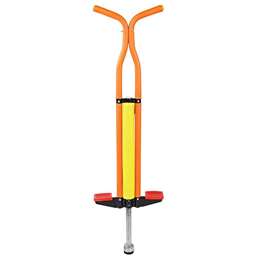 Greensen Pogo Stick for Kids, Pogo Stick for Boys Girls Ages 7 & Up, Quality Pogostick for Healthy Exercise Gift, Organge (Orange)