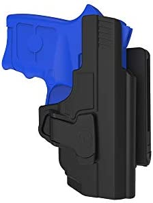 Belt Holster for S W M P Bodyguard 380 with Integrated Red Laser None Laser Open Carry Right product image