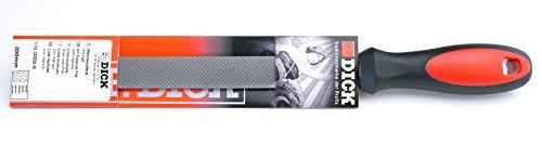 F. DICK Mehrzweckfeile 2K 200 mm (unterschiedliche Flachseiten, Feile für Stahl, Bunt- und Weichmetalle, Kunststoffe und Holz) 3305200-2K