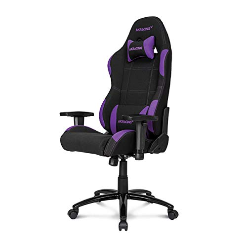 AKRacing K7012 - AK-K7012-BB - Silla Gaming, Color Negro