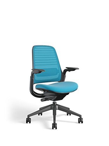 Steelcase Series 1 Work Office Chair, Blue Jay