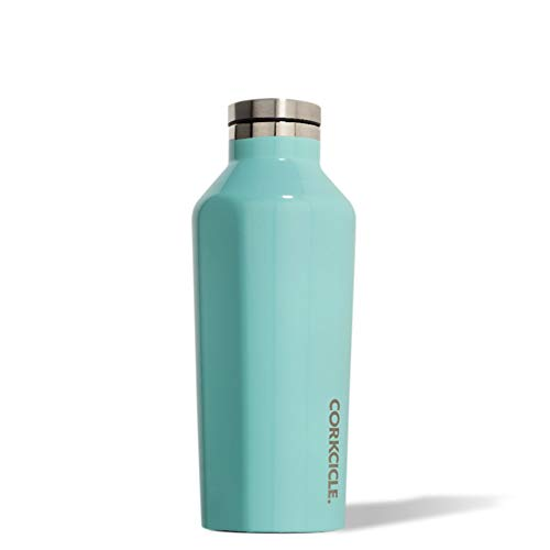 Corkcicle 2009GT Gloss Isolierflasche, edelstahl, türkis