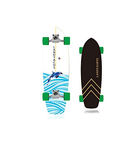 Great Deal! XUEYING-KickScooter Land Skateboard Brush Street Travel Boys and Girls Small Fish Board ...