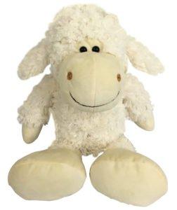 Lamb Stuffed Animal - Stuffed Sheep - Plush Toys - Great for Sheep Theme Nursery Decor - Cute Fluffy White Sheep Plush Lamb