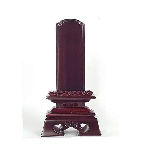 位牌 唐木【1人分文字代込み】紫檀 勝美 唐木位牌 3.5寸総高さ約175mm ※手作り品のため誤差がある場合があります。