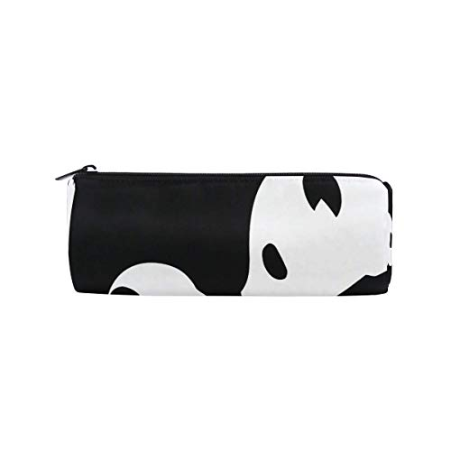 IOPLK Kulturbeutel runde Federmäppchen Kosmetiktasche Federmäppchen CCDMJ African Women Egyptian Tribal Pen Pencil Case Bag Holder Zipper Organizer Students Stationery Bags Makeup Brush Pouch for Kids