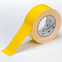 Brady ToughStripe Floor Marking Tape - Yellow, Non-Abrasive Tape - 4