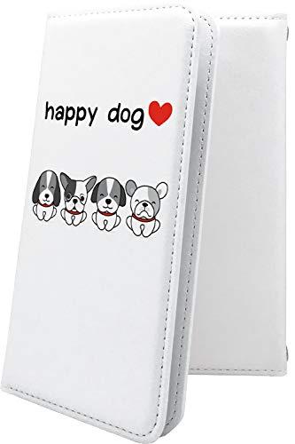 スマートフォンケース・ZenFone5Q ZC600KL・互換 ケース 手帳型 犬 いぬ 犬柄 動物 動物柄 アニマル どうぶつ ゼンフォン5q ゼンフォン5 手帳型スマートフォンケース・キャラクター キャラ キャラスマートフォンケース・zenfone 5q 5 q かわいい 可愛い kawaii lively [3zt30627Tu7]