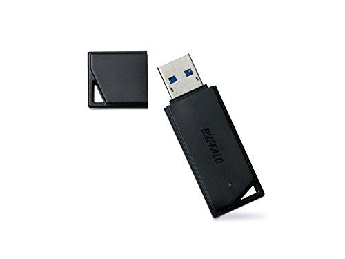 BUFFALO【国内メーカー】 USBメモリ 32GB USB3.2(Gen1)/3.1(Gen 1)/3.0/2.0 充実サポート RUF3-K32GA-BK/N...