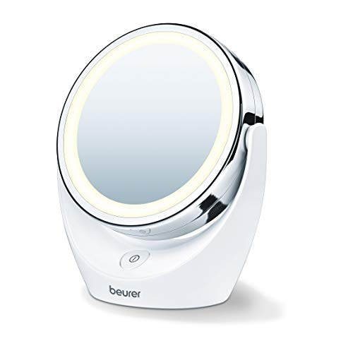 Price comparison product image Beurer BS49 Illuminated LED Cosmetic Mirror - Battery Operated