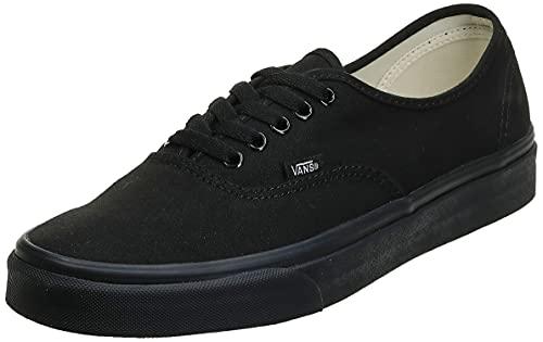 Vans VN000EE3BKA Zapatillas de Tenis Unisex, Color Negro, 24