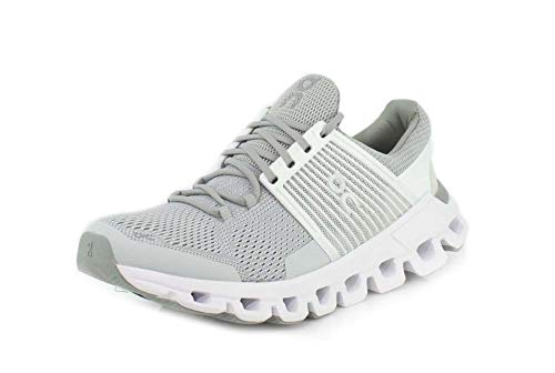 On Running W Cloudswift Grau, Damen Laufschuh, Größe EU 39 - Farbe Glacier - White