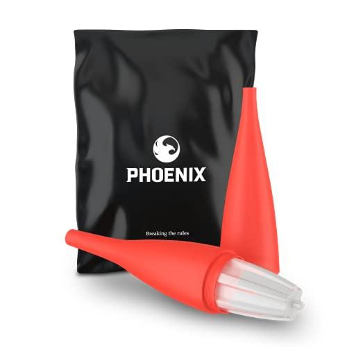 Phoenix - Ice Bazooka Cachimba Boquilla Shisha Mangueras Hookah, Accesorios cachimba shisha grande buenas con Gel Enfriador para mejor sabor cachimba