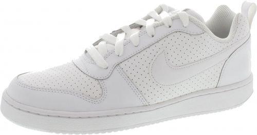 Nike Court Borough Low, Scarpe da Basket Uomo, Bianco White White White, 42.5 EU