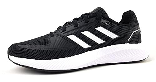 adidas Runfalcon 2.0, Road Running Shoe Mujer, Core Black Footwear White Grey, 37 1/3 EU
