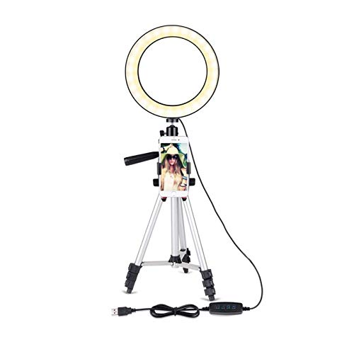 Ring Light with Tripod Stand 5.7'' for Youtube Video and Selfie/makeup