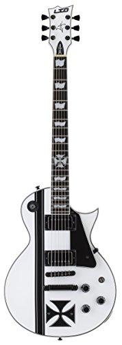 ESP LTD Iron Cross James Hetfield Signature Electric Guitar with Case, Snow White