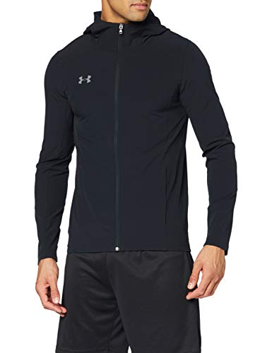 Under Armour Challenger II Storm Shell Veste Homme Noir FR : S (Taille Fabricant : SM)