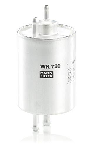 Original MANN-FILTER Kraftstofffilter WK 720 – Kraftstofffilter Satz mit integriertem Druckregler 3,8 bar – Für PKW