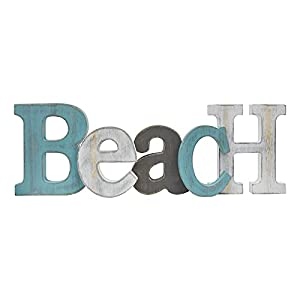 31cyLpe8cGS._SS300_ Wooden Beach Signs & Coastal Wood Signs