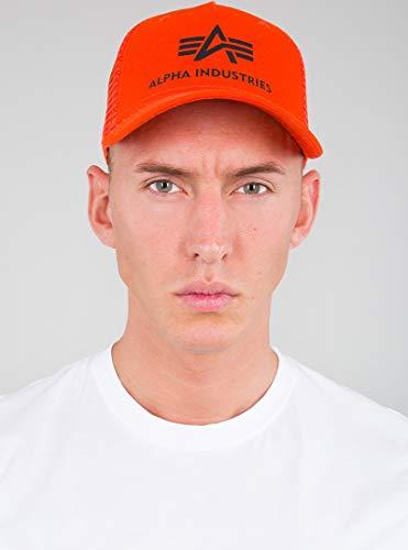 Alpha Industries Basic Trucker Kappe Orange