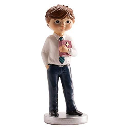 Figura Pastel para la Tarta 1ª Comunión Niño Corbata 15 CM - Figuras para Pasteles Comuniones