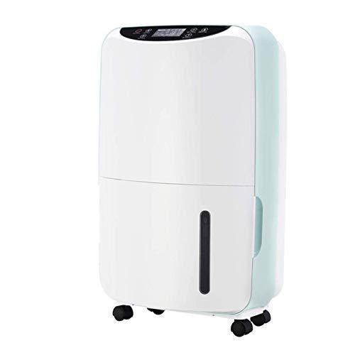 Deshumidificador, Control inteligente de control inalámbrico Ambiente de humedad doméstico con pantalla LED de tiempo de tiempo de 24 horas Adecuado para el sótano de sala de estar de la habitación